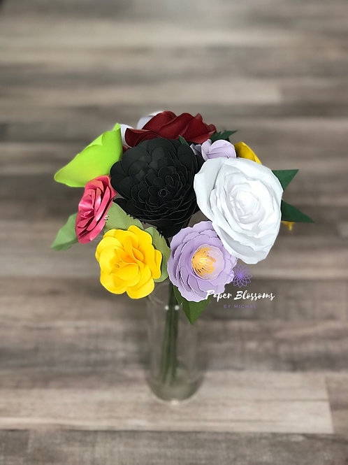 Small Paper Flower Bouquet