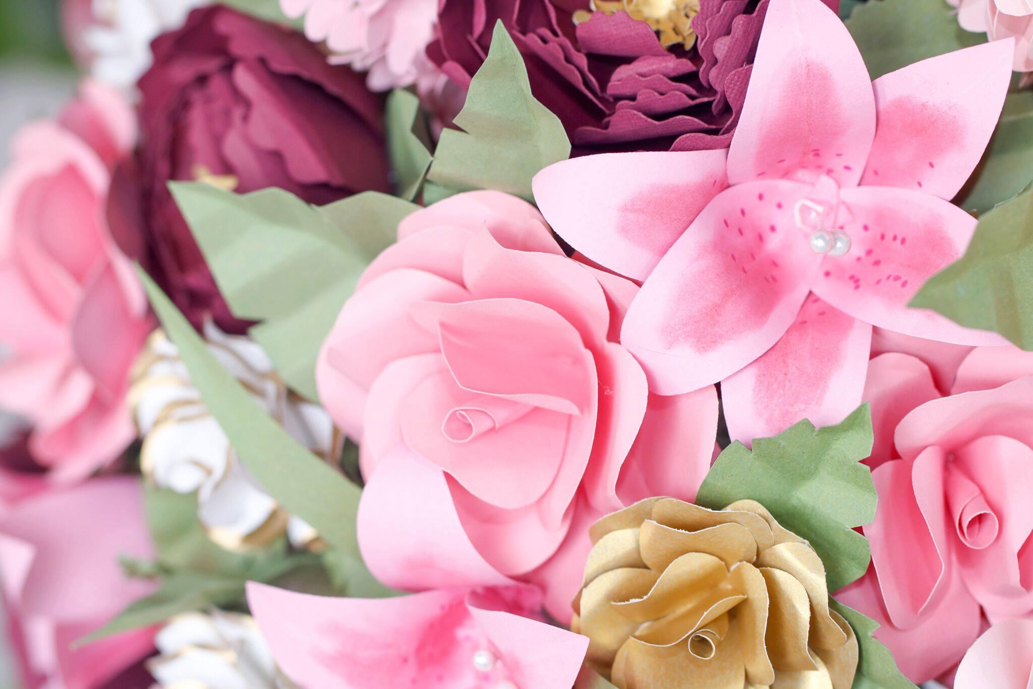 Florist Kalamazoo Paper Blossoms By Michal