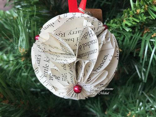 A Redbird Christmas: Red Ribbon Book Ornament