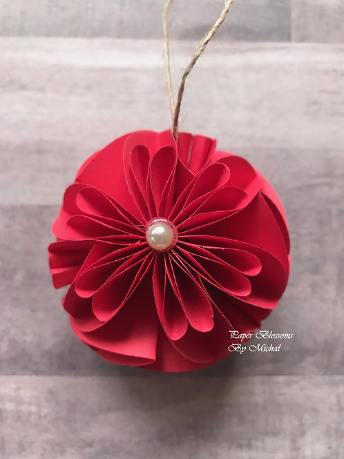 Red Ornament: Twine