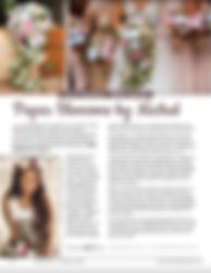 Women's Lifestyle Magazine Bridal Florist