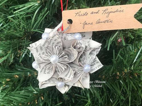 Kusudama Ornament: Jane Austen