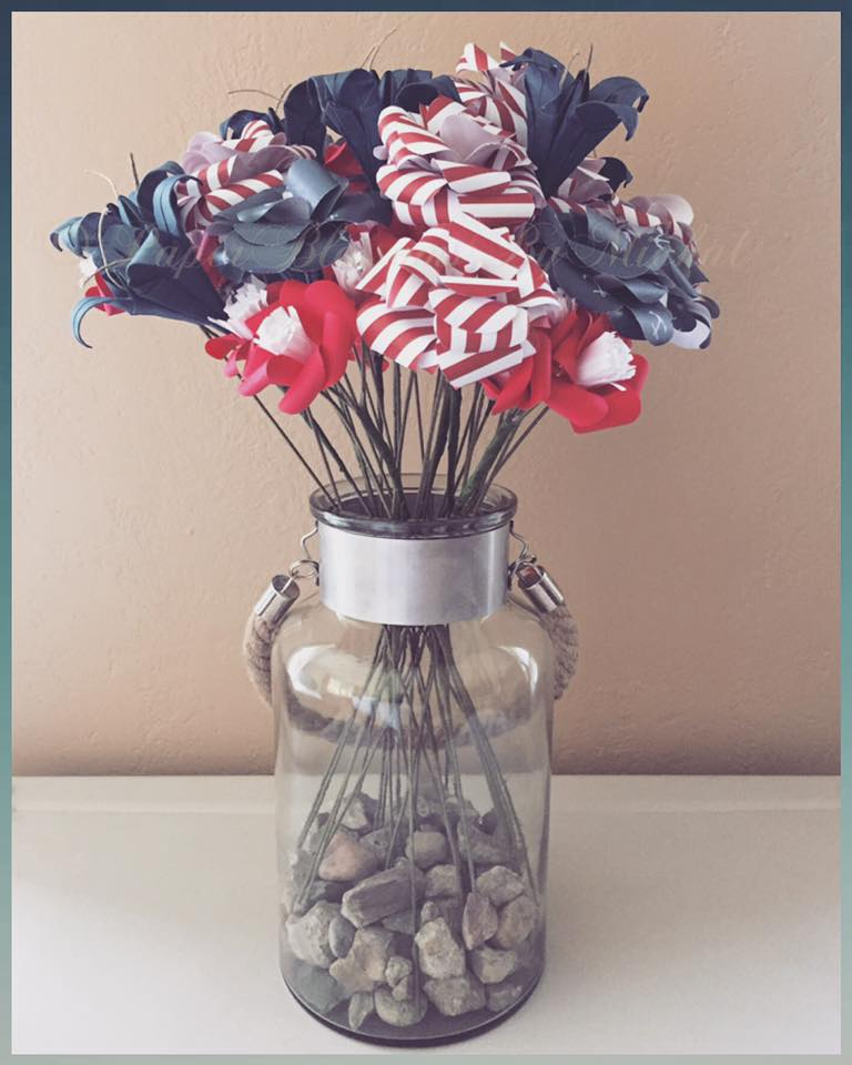 Patriotic Nautical Bouquet