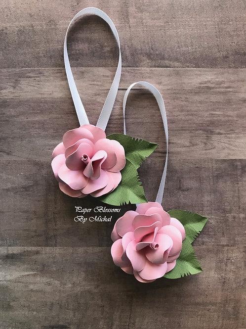 Flower: Extra Small Rose Ornament SET