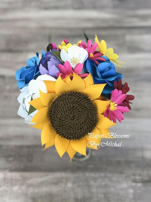 Paper Flower Bouquet for Sale
