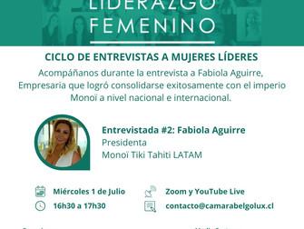 Ciclo de entrevistas a Mujeres Líderes en el marco de la IV Cumbre de Liderazgo Femenino #2: Fabiola