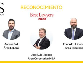 Noticias Socios: DS Abogados recibe reconocimiento Best Lawyers 2020