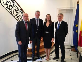 Noticias Belgolux: Reunión junto al nuevo Embajador de Chile en Bélgica