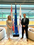Reunión en Luxembourg Chamber of Commerce