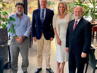 Presentación Embajador de Luxemburgo en Chile