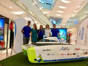 Noticias Socios: ENGIE Chile acompaña a equipo belga en Carrera Solar 2018