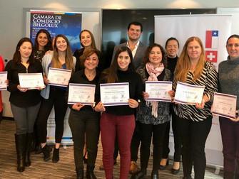 """Noticias Belgolux: Nuevas graduadas del """"Programa de Entremamiento: Liderazgo Femenino"""""""