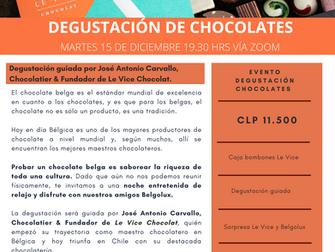 EVENTO: Degustación Chocolates LE VICE, martes 15 de diciembre, 19.30 hrs.