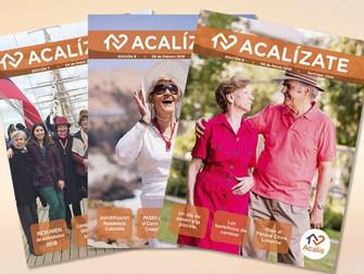 Noticias Socios: Acalis les invita a leer su revista ACALÍZATE
