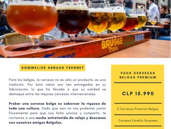 No se pierden de nuestra Cata de Cervezas Premium Belga el 31 de Julio 2020 a las 20:00 via Zoom