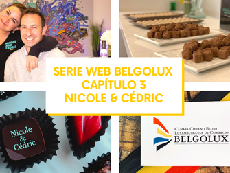 Noticias Belgolux: Serie Web Belgolux - Capítulo 3 - Nicole&Cédric, Artisans Chocolatiers Belges