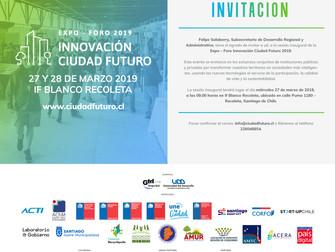 Noticias Belgolux: Inauguración EXPO - Foro Innovación Ciudad Futuro 2019