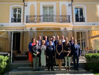 Noticias Belgolux: Reunión de Directorio Cámara Belgolux y Cámara Chileno-Belga