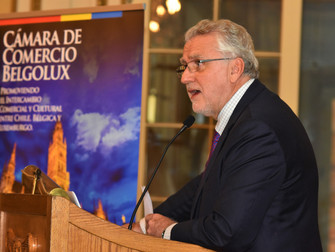 Evento Belgolux: Almuerzo Ministro de Energía