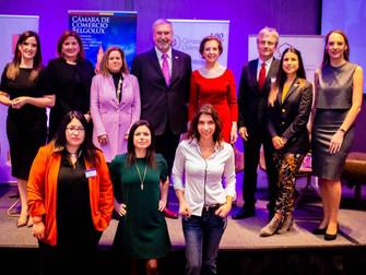 Eventos Belgolux: III Cumbre de Liderazgo Femenino gran éxito