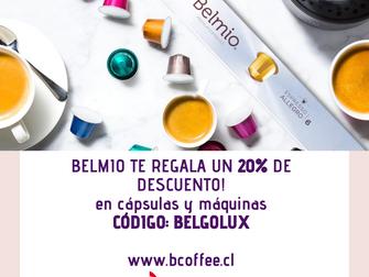 Noticias Socios: Café Belmio ofrece un 20% de descuento