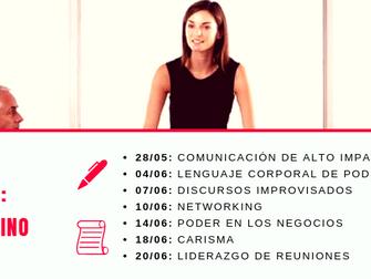 Capacitaciones Belgolux: Programa de Entrenamiento - Liderazgo Femenino