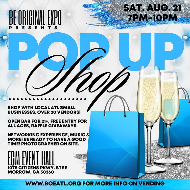 August PopUp Shop