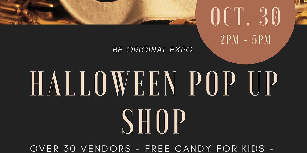 Halloween Pop Up Shop