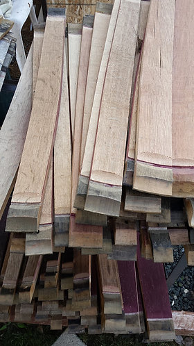 Used Wine Barrel Staves - Half Dozen (6)