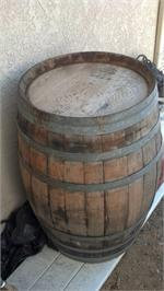 Used Oak Wine Barrel - LOCAL PICK UP ONLY