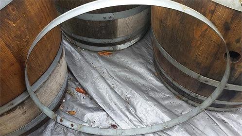 Used Wine Barrel Hoop Band