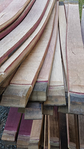 Pickup Used Wine Barrel Staves - Dozen (12)