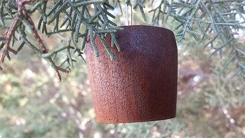 Wooden Barrel Bung Ornament