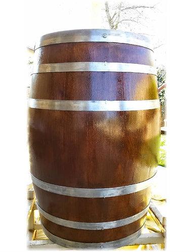 Decorative Wine Barrel - Natural Bands