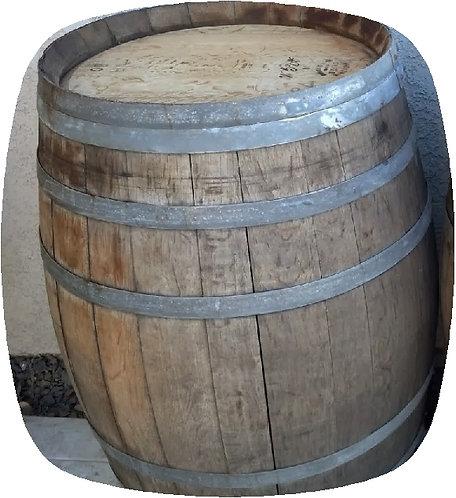 Grey Used Wine Barrel
