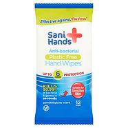 Sani Hands Antibacterial Wipes