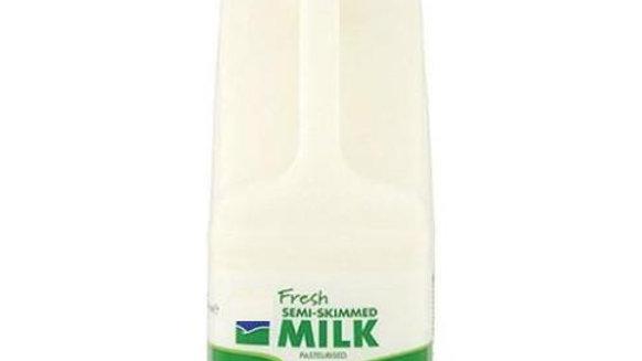 Frozen Semi-Skimmed Milk