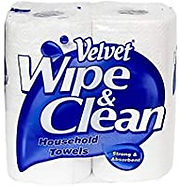 Velvet Wipe Clean Kitchen Roll