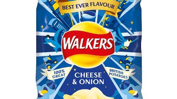 Walkers Crisps Cheese & Onion