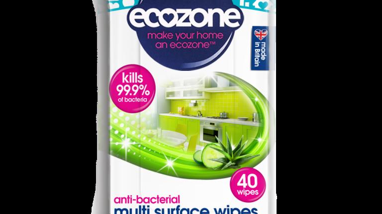 Ecozone Anti-bacterial Wipes