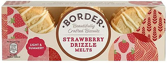 Borders Strawberry Drizzle Melts