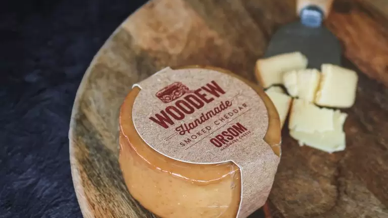 ORSUM Woodew - Cherry Smoked Cheddar