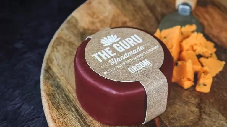 ORSUM The Guru - Red Leicester & Mango Chutney