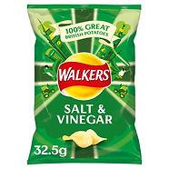 Walkers Crisps Salt & Vinegar