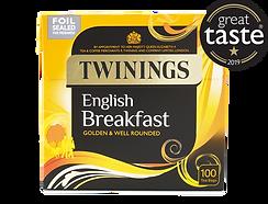 Twinings English Breakfast teabags