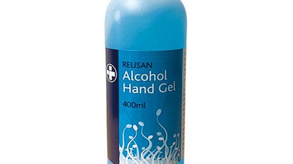 70% Alcohol Hand Sanitiser Gel 400ml