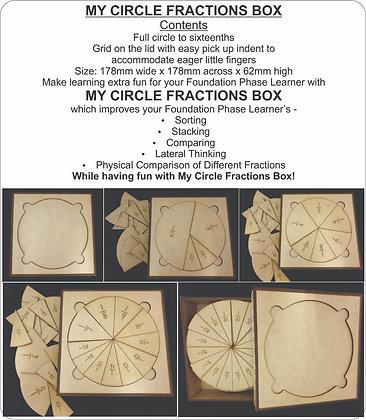 MY CIRCLE FRACTION BOX