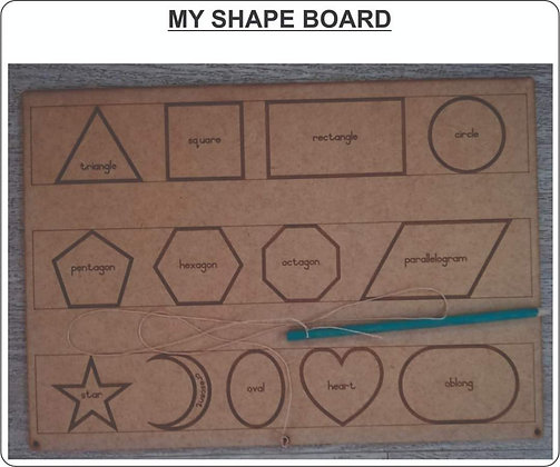 MY SHAPES BOARD