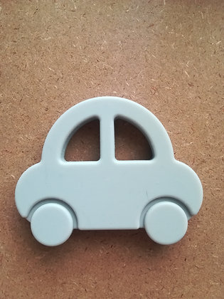 CAR TEETHER - LIGHT GREY
