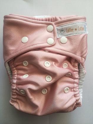BALLET PINK OSFM CLOTH NAPPY
